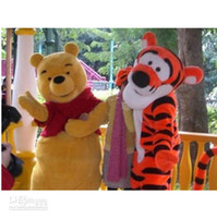 Wholesale Tigger Winnie the Pooh Get Cartoon Christmas the activities of Mascot Costume
