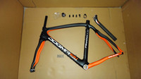 Wholesale 2013 Asymmetrical Pinarello Dogma Think2 DI2 orange black full Carbon Fiber cm Road Bike Frame