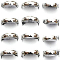 Wholesale Mix Stainless Steel Rings Charming Fashion Ring Jewelry SR99