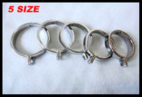 Wholesale Stainless Steel Cock Ring For Chastity Crafts Metal Male Chastity Device Male Chastity Cock Ring