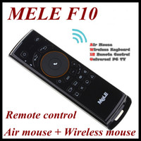 Wholesale Mele Fly Mouse F10 in Air mouse Wireless mouse Keyboard Remote control for Android