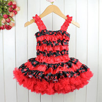 Wholesale 2013 New Fashion Children Dress Red Printed Baby Girls Party Dresses Kids Garment For Summer Wear