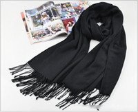 Wholesale Scarves for Women and Men Spring Winter Scarf Black Classic Plaid Woolen Scarf Shawl Mix Order
