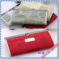 Wholesale 2015 Newspapers BearMiss Cross section Square Of the Cross section PU Leather Wallet Fashion handbag Tote