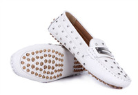 Slip-On Women Genuine Leather 2013 Casual Shoes fashion women shoe white yellow size 35 36 37 38 39 40 41 nice to lady who have it
