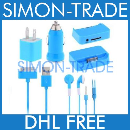 wholesale cell phone earphones buy 5in1 us wall charger car