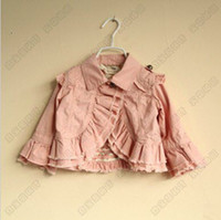 baby girl kids outfits flower floral coat ruffle layers lace...