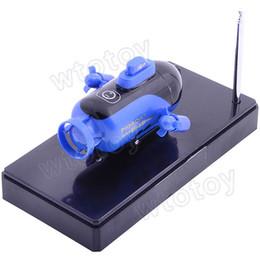 Wholesale New Remote Radio Control Mini RC Submarine Sub Boat RTR Blue