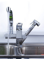 Wholesale Kitchen faucet draw faucet hot and cold water tap all copper kitchen tap