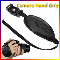Wholesale 5PCS PU Leather Camera Hand Grip Hand Wrist Strap Belt Grip for All Canon Nikon Pentax Sony SLR DSLR