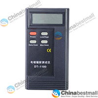 Wholesale DT Electromagnetic Radiation Detector EMF Meter Tester Cell Phone Laptop Anti Radiation Gadgets