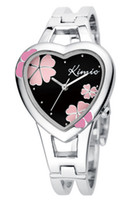 Silver   hot selling luxury High Quality + Japan the Movements KIMIO quartz Kimio watch Bangle watches