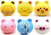 Wholesale Best price animal cute automatic Cartoon Family Toothbrush Holder with Suction Cup