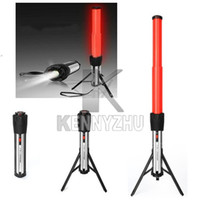 Wholesale 5W Multifunctional High Light LED Car Flashlight Torch With Emergency Stand Warnning Light via Fedex