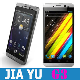 Wholesale JiaYu G3 MTK6577 Dual Core Android GPS GB RAM Konka Gorilla Screen i5 G Smart Cell Phone efit