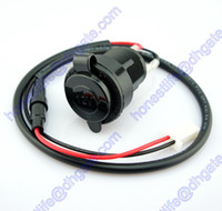 Wholesale 0 m Motorcycle Scooter ATV Car Waterproof Cigarette Lighter Socket Power Outlet