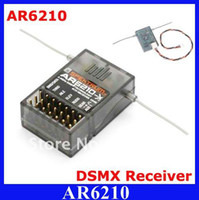 Wholesale Spektrum AR6210 DSMX Receiver Ghz CH DSM X Receiver with Satellite