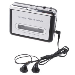 Rétro capture USB de cassette, bande de PC Cassette USB super portable pour lecteur MP3 Converter capture