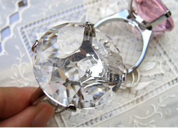 Wholesale 100pcs Kate Aspen Wedding gift party favor Ring crystal Diamond Keychain napkin serviette rings