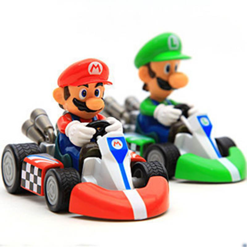 mario car racing