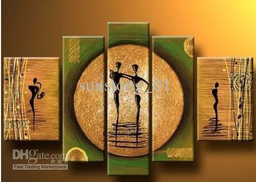 Abstract People Group Painting Home Decorative Group Paintings Modern Group Painting