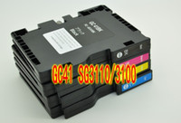 Wholesale 1Xset PC Ricoh Ink Cartridge GC41 SG3110dn SG3100 SG2100 SG2010 Sublimation ink