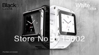 Cheap 50pcs all metal aluminum material LunaTik Lynk Watch Kits Band luna tik Wrist For iPod Nano 6
