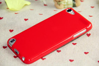 silicone gel - 50pcs Soft Candy Plain TPU Gel Glossy Case Cover ipod touch th