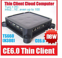 Wholesale Win CE Thin Client Net Computer Mini PC Share Sharing Station Network Terminal TS660 N380
