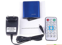 Wholesale TOP MINI Full HD P USB External HDD Media player With SD MMC card reader HOST OTG support MKV