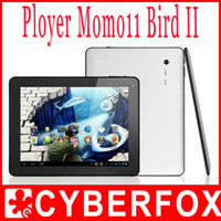 Wholesale 9 quot Ployer Momo11 bird II dual core RK3066 Mali400 Android Bluetooth HDMI Dual Camera