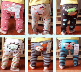 Wholesale 10Pcs New Cool Model Kids Wear PP Pants Multi style Cotton Toddler Trousers Factory Sales