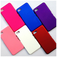 Wholesale Hybrid Back Hard Case Skin Protect Cover Shell for Blackberry Z10 Anti Scratch Dust Mix Color