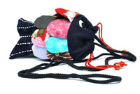 Wholesale 2012 Newest Fish Shape Cotton Fabric Coin Purses Wallet Fashion Small Money Bag Clutch