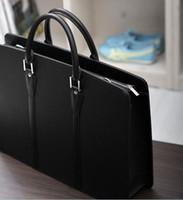 Soft Bags Genuine Leather Women South Korea hand bill of lading shoulder bag briefcase business bag man handbag exempt postage