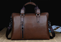 Wholesale 2012 new bags leather briefcase casual cross Mens shoulder bag diagonal computer bag men s fashion h