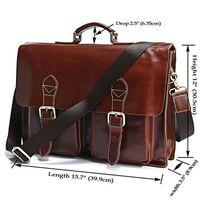 Wholesale Brand New Design Genuine Cow Leather Men s Business Briefcase Laptop Handbag Messenger Bag FREE SHIP