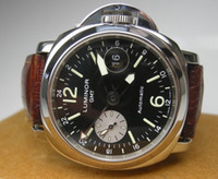 Wholesale LUXURY MM GMT PAM88 LUMINOR AUTOMATIC STAINLESS STEEL MENS MEN S SPORTS WATCH WATCHES BLACK DIAL