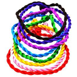 Wholesale Colorful Bracelets Fashion Chains Bracelets Chinese Fabric Multicolor Bracelets For Good Luck SZ136