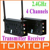 wireless video transmitter receiver - 2 GHz Channels A V Audio Video Sender Wireless Transmitter Receiver V452
