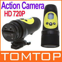 Wholesale HD P Waterproof Action PC Camera Video Recorder Outdoor Sports Bike Helmet D837