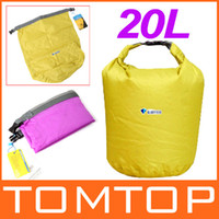 Wholesale 20L S Outdoor Waterproof Dry Bag for Outdoor Canoe Kayak Rafting Camping amp Hiking Travel H8071 Series