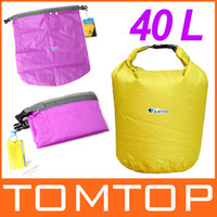 Wholesale 40L Outdoor Waterproof Dry Bag for Canoe Camping Travel Equipment H8071 Series