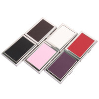 Wholesale New fashion unisex business credit card wallet stainless steel high quality bank ca