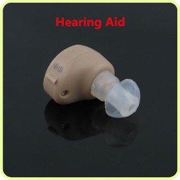 Wholesale New Best Sound In ear Amplifier Adjustable Tone Mini Light Invisible Hearing Aid Aids Piece pair