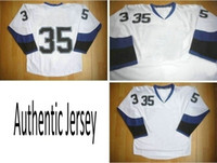 Wholesale White Road Ice Hockey Winter Jerseys Authentic Sportswear Jersey Dhdate Jerseys TB