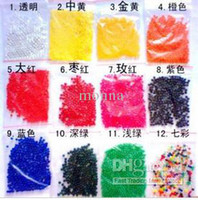 Wholesale 9000g bag Magic Plant Crystal Soil Mud Water Beads Pearl ADS Jelly Crystal ball soil