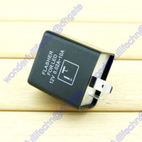 Wholesale 12V Pin Motorcycle Motorbike Universal LED Turn Signal Indicator Light Flasher Relay