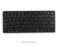Wholesale Bluetooth keyboard wireless for PC Macbook Mac ipad iphone Tablet PC android ultra Black