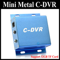 Wholesale Metal Mini CCTV C DVR Recorder Security Digital Video Recorder support G TF card